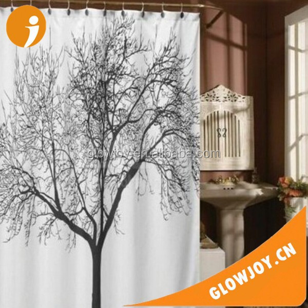 2015 New Products Mainstays 13pc Fabric Shower Curtain And