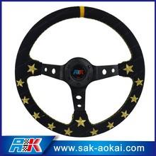 chain steering wheel embroidered car steering wheel