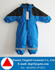 Western Style Kids Snow Suits High Quality Custom Kids Ski Overall One Piece