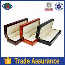 Custom handmade wooden fountain pen display box,elegant wooden pen box case from dongguan supplier