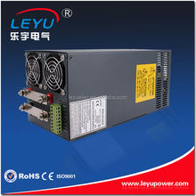 Industrial high power ac dc power supply 1500w switch model power supply