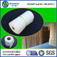 Professional ceramic fiber insulation paper with CE certificate
