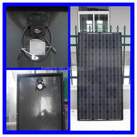 high efficiency 250W monocrystalline black crow solar panels