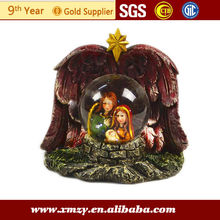 Nativity in Glass Ball for Sale