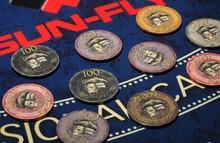Bauta casino chip,SUN-FLY printable ceramic poker chips,casino game chips