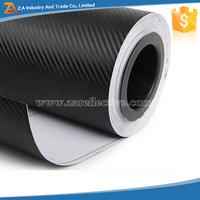 High Quality Bubble Free Black 3D Carbon Fiber Vinyl Film