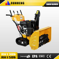 15HP Track Snow thrower two stage snow thrower