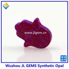 OP54 sleep water lily wholesale Synthetic hamsa Opal stone price