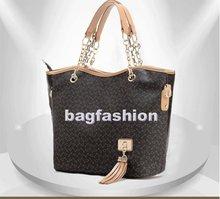 Ladies European Style Fashion Tassel Tote bag