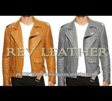100% Genuine Cow Hide Leather Brando Jacket Motorcycle Motorbike bike biker bicycle Custom design Classic Vintage Retro Punk
