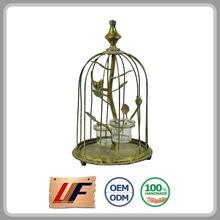 Custom Color Bedroom Decor Cage Shape Lantern For Wedding