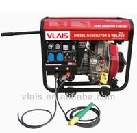 VLAIS 5KW Diesel Welding Generator, KDE6500EW Petrol Welder Generating all copper coil