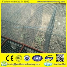 Hot dipped welded wire mesh panel mink cage metal animal cages