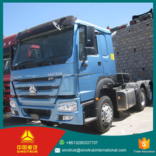 SINOTRUK HOWO 6*4 Left/Right Hand Driving howo double guiding axle tractor truck