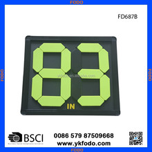 Football soccer palyer substitution board coaching hand change board football training products(FD687-2)