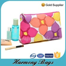 2015 New arrived candy color pattern beauty cosemtic bag