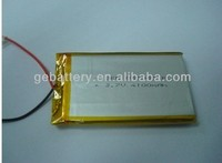 rechargeable tablet pc 3.7v 4000mah 855085 li-polymer