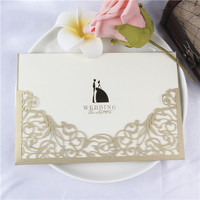 high class fancy design selling wedding invitation cover