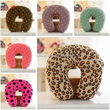 Leopard Grain Memory Foam Neck Pillow