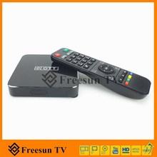 โทรทัศน์ที่ถ่ายทอดสดและจีนภาพยนตร์ออนไลน์นาฬิกาdualcoreกล่องหุ่นยนต์iptvสนับสนุนwifiสำหรับจีนทั่วโลก