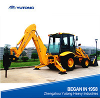 YUTONG 4x4 Military Quality Backhoe Loader For Sale Case