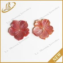 Freshwater Shell , Pink Flower shell ,Wholesale Shell Flower