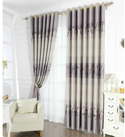 modern print finished curtain shower curtain
