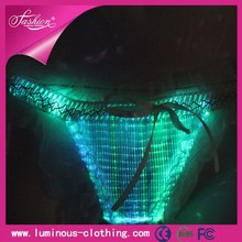 Hot LED luminous glow in the dark beautiful women sexy underwear lingerie