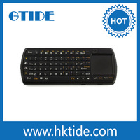 mini backlit keys bluetooth 3.0 keyboard wireless keyboard with touchpad and flashlight,for playstation 3 gaming PC's keyboard