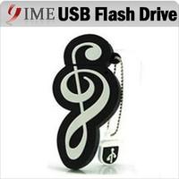 Real Capacity USB Musical Instruments Cartoon USB Flash Drive Pen Drive 4gb 8gb 16gb 32gb 64gb Usb Memory Stick Music Pendrive