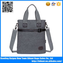 Online casual canvas and leather bag mans vintage handbags wholesale