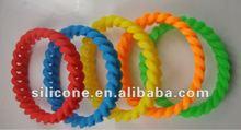 fashion silicone rubber band 2012