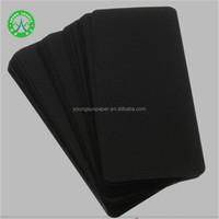 Turkey Printing Kraft Paper Invitation Card Material 300g Black Paper