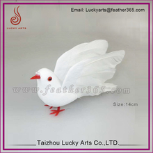 Artifical Bird Wedding Arts And Crafts Cotton Doves