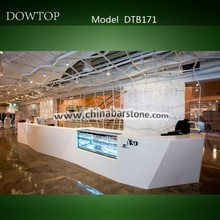2015 Dowtop modern and fashion refrigerate/cooling bar counter fridge