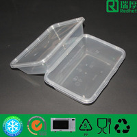 Plastic Take Away Food Container 500ml