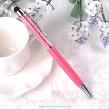 Promotional pen customized logo New luxury Promotion Pink Crystal Pen