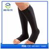 2015 New Zip Sox 20-30mmHg Zippered Compression Stockings Socks Black