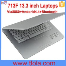 Newest Design Cheap Mini Laptop With Bluetooth 713F