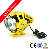 U5 15W 12V 3000LM 6000K LED Motorcycle Headlight Lights/Gold