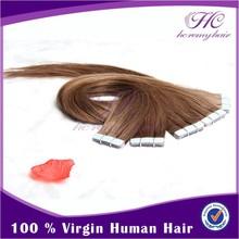 Best friend birthday gift remy tape hair extension virgin remy tape hair extension brazilian hair suppliers