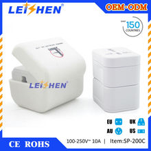 Cheapest universal travel adapter with usb port gifts for business trip
