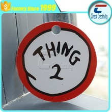 """Thing 2"" - Its Luggage Tags Print - Die Cut Luggage Tag"
