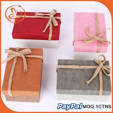 Wholesale beautiful printed promotional fashion custom paper gift box