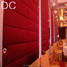 Soundproof Movable Partition,Acoustic Folding Wall,fixed room divider
