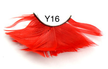 Hot sell colorful synthetic hair false eyelashes with factory price