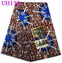 UH158 wholesale ankara fabric for dresses and wax bag