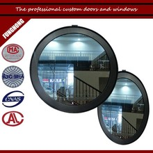 Custom- made aluminium circular window and round window for house