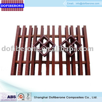 Fiberglass GRP FRP offshore grating molded and pultruded