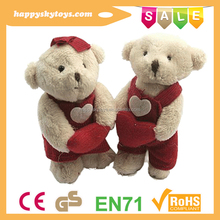 Happy kid toys!!!wholesale cuddly teddy bear,wonderful teddy bear,handmade stuffed mini bear